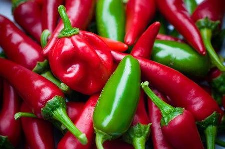Chili paprika fajták