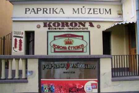 Paprika múzeum Kalocsa
